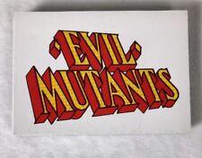 X-Men Under Siege Board Game Replacement Part EVIL MUTANTS Cards Pressman 1994