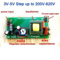 3V-5V Step up to 200V-620V Voltage DC-DC Boost Converter Power PSU Module