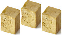 3 Bars  Le Savon d'Alep  Aleppo Soap Olive & Laurel Oil 200g 7.05oz Each