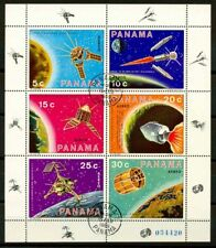 Panama 1969 Sc. C365 Foglietto 100% Usato Esplorazione dello Spazio