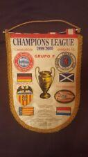 Wimpel FC BAYERN MÜNCHEN CL 1999-2000 Gruppe F mit Glasgow, Valencia, Eindhoven