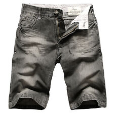 Mens FOXJEANS Denim Men's Black Jeans Shorts Size 34