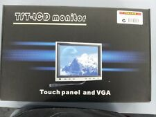 8 Inch TFT LCD Touch Screen Monitor Headrest Mount for CAR PC New  VGA RCA INPUT
