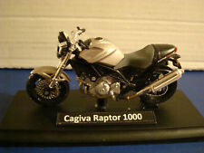 Cagiva Raptor 1000 Silver 1:18 Welly