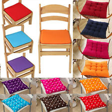 Soft Chair Cushions Seat Pads Dining Room Patio Garden Home Office Tie On Decor