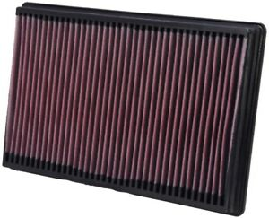 K&N 33-2247 Drop-In Replacement Air Filter Element 2002-2018 Dodge Ram 1500