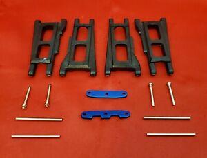 Traxxas 68086-4 1/10 4x4 Slash A-Arms & Hinge Pins Set Front Rear 3655X Platinum