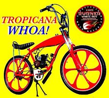 """Complete Diy 2-Stroke 66Cc/80Cc Motorized Bicycle Kit With 29"""" Red Gas Tank Bike"""