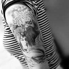Una volta Tatuaggio Fake Tattoo Geisha MEDIUM IMPERMEABILE WATERPROOF Flash (hb-046)