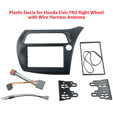 Fascia for Honda Civic VIII Hatchback 2006-2011 radio dash kit facia kit Harness