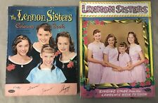 1957 Lennon Sisters Paper Doll Set - Whitman - Lawrence Welk + Coloring Book lot