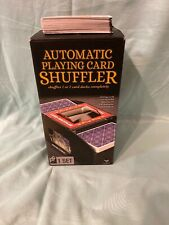 CARDINAL AUTOMATIC PLAYING CARD 1 OR 2 DECK SHUFFLER COMES WITH DECK OF CARDS