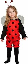 GIRLS LADY BUG TODDLER FANCY DRESS PARTY CHILD WORLD BOOK DAY WEEK TODDLER 2-4