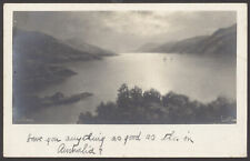 More details for loch ness. scottish highlands. an early photographic postcard of loch ness