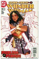WONDER WOMAN v2 #196(11/03)1:VERONICA CALE/LO(SUPERMAN)ADAM HUGHES CVR(CGC IT)NM