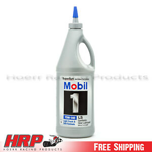 Mobil 1 75W-140 Synthetic Gear Oil - 1 Quart