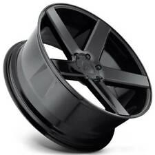 """4ea 22"""" Staggered Dub Wheels Baller S216 Gloss Black Rims(S1)"""