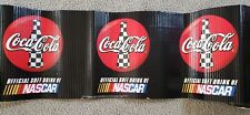 NASCAR COCA COLA Corrugated Cardboard Display Trim Decoration Approx 19ft
