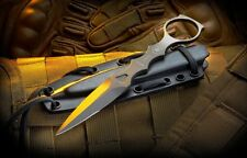 Spartan Blades Knife CQB Tool Black with Black Kydex Sheath