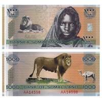 Pick CS1 Somaliland 1000 Shilling 2006 Unc. / 3715182vvv