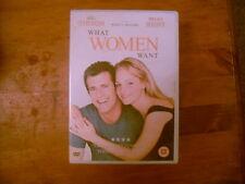 WHAT WOMEN WANT-DVD-MEL GIBSON,HELEN HUNT,CLASSIC COMEDY-1st bid wins item