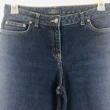 ec4552902a Brooks Brothers 346 Women's Size 8 Dark Denim Jeans Stretch EUC