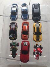 Konvolut Carrera Go Auto's, 9 Auto's, fahrbereit, tlw. deutliche Gebrauchsspuren