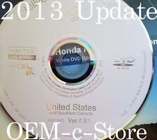 2013 Update 2006 2007 2008 2009 2010 Honda Odyssey Navigation OEM DVD Map v 4.B1