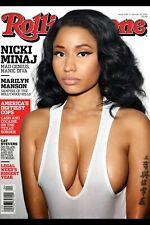"Rolling Stone Nicki Minaj poster home decor photo print 16x24, 20x30, 24x36"""