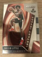 Nassir Little 2019-20 Panini Prizm Instant Impact #19 Rookie RC Trail Blazers