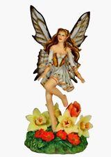 Rhapsody in Gold Nene Thomas Flower Fairy  Figurine - Display no box Last One