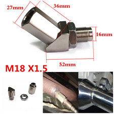 1Pc 45° Car 02 Oxygen Sensor Bungs Extension Spacer Catalytic Converter Inserts