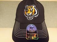 New Cincinnati Bengals Mens Adult Size OSFA 47' Brand Stretch-Fit Cap Hat $28