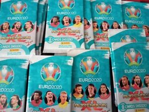 Italy 2020 Panini Adrenalyn XL UEFA EURO x24 Trading Card Packs