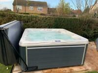 """New 2021 Design """"THE LUNA"""" Person Hot Tub With Balboa Control System 75 JETS"""