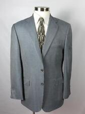 JOSEPH ABBOUD Sport Coat 42R 42 Blue - Silk &100% Wool - Made in USA $495