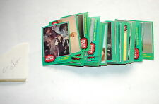 vintage Star Wars topps trading cards Series 4 Green set w 207  G/VG  70's  517