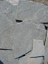 Polygonal Terrassenplatten Bruch Anthrazit Naturstein Quarzit Silver Glow 20qm