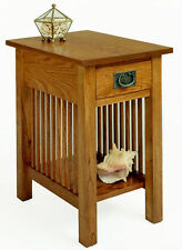 A. A. Laun Workbench Classics Chairside Table With Drawer #2606 - On Sale!