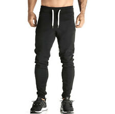 2017 Men's Sport Gym Fitness Workout Joggers Pant Sweatpants Running Trousers