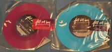 """FALL OUT BOY - THIS AIN'T A SCENE, IT'S AN ARMS RACE - 2006 UK Blue & Purple 7"""""""