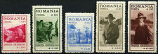 Romania 1931 SG#1221-5 Boy Scouts MH Set #D33686