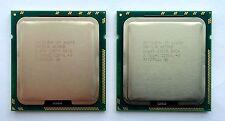 PAIRE de 2Intel Xeon X5690 3,46 GHz 6 brins 12 M Prozessor Sockel 1366 SLBVX CPU