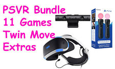 PS4 PSVR Monster Bundle + 11 Games + Twin Move Controller *WORLDWIDE SHIPPING*