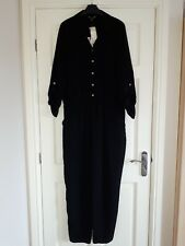Brand new with tags Lipsy Michelle Keegan size 14 black long sleeve jumpsuit