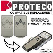 Proteco TX433, Proteco PTX433405 Compatible remote control transmitter, clone