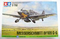 Tamiya 60790 Messerschmitt Bf109 G-6 1/72 Scale Kit AKS*