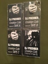 DJ Premier Crooklyn Cuts A B C D Full Set 4 TAPE KINGZ NYC Mixtape Cassettes
