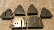 Lots Of Lego Castle Parts, Desert Parts - Burps Lurps Decorated Wall Panels, Acc