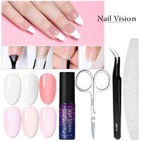 NAIL VISION 5ml Poly Extension UV Gel Nail Polish Quick Builder Manicure Set Kit
